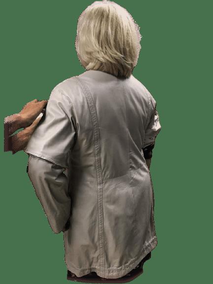 Ремонт одежды из кожи